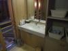 貸切風呂(半露天)の脱衣所