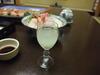 夕食の食前酒