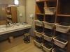 大浴場(男湯)の脱衣所