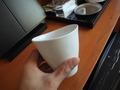 部屋のカップ