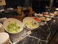 【朝食バイキング】 サラダのコーナー