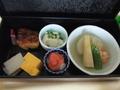 【ルームサービス / 朝食】色もカワイイ和朝食