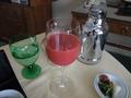 【ルームサービス / 朝食】絞りたてのイチゴジュース