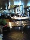 タワーズグリルのキッチン