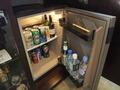 【エグゼクティブフロア デラックスダブル(禁煙)】冷蔵庫は隙間無く
