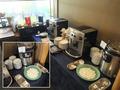 日本料理和泉 ランチビュッフェのドリンクコーナー