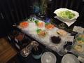 日本料理和泉 ランチビュッフェのコーナー(サラダ)