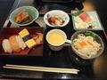 日本料理和泉 ランチビュッフェ 盛り付け例1