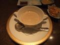 【鉄板焼すみだ:宿泊者限定夕食プラン】森のキノコのスープ