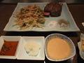 【鉄板焼すみだ:宿泊者限定夕食プラン】鉄板焼 テンダーロイン(オーストラリア産200G)と野菜炒め