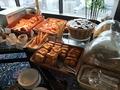 【スカイラウンジ オルフェウス:朝食ブッフェ】パンのコーナー