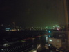 部屋からみた長崎港