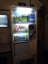 ラウンジルームの自動販売機