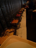 マンハッタンテーブルの朝食バイキング1