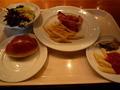 マンハッタンテーブルの朝食バイキング 盛り付け例1