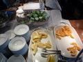 マンハッタンテーブルの朝食バイキング2
