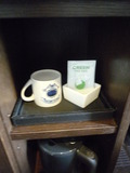 クハネ1304のお茶セット