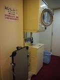 洗濯機とズボンプレッサー