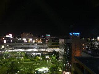 夜の和歌山駅
