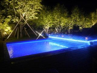 写真クチコミ:ライトアップが美しいプール