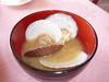 ホタテのお味噌汁