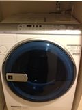 室内に洗濯機