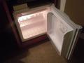 冷蔵庫は空っぽ