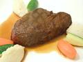 【クリスマスディナー】牛フィレ肉のグリル  マディラソース