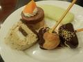 【夕食ビュッフェ】チョコフォンデュ