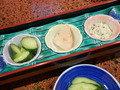 【夕食】前菜