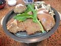 【夕食】秩父豚の味噌漬け焼き