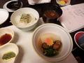 【夕食】蕪スープ煮 小茄子 子持ち鮎甘露煮 紅葉麩 青身