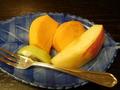 【夕食】水菓子