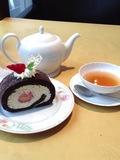ケーキセットは1600円