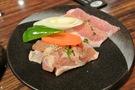 【夕食】鶏肉豚肉盛り合わせ