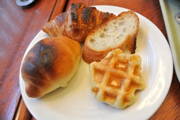 朝食ビュッフェ
