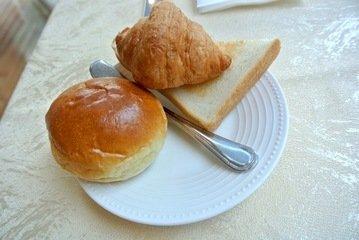 【朝食】自家製パン