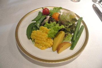 【朝食】サラダバー