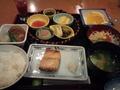 朝の和定食(2連泊で2日とも和定食にしました)