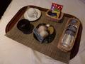 朝食(おにぎりセット)