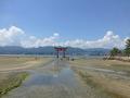 干潮の厳島神社