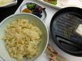 鯛めし(夕食)