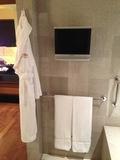 バスルームのTV