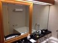 バスルームのミラー