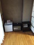 冷蔵庫と貸金庫