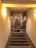 クラブフロアの廊下