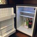 冷蔵庫と無料ドリンク
