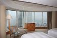 24階パシフィックフロア グランドコーナースイートのベッドルーム