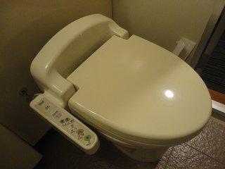 重要な洗浄機能付きトイレ