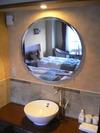 同じ部屋に洗面台が。